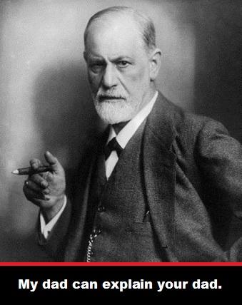 Dad Sigmund Freud