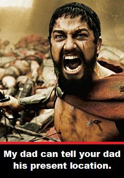 King Leonidas Dad