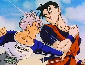 Trunks and Gohan Future