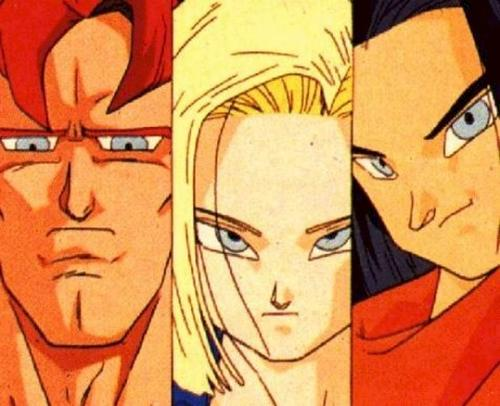 The Androids. Dragon Ball Z
