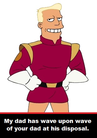 Dad Zapp Brannigan