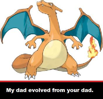 Dad Charizard