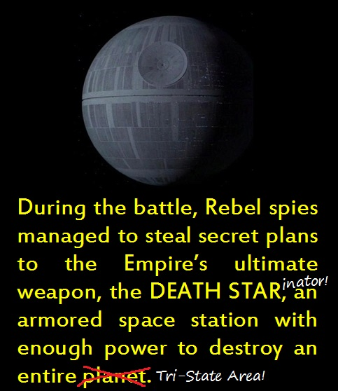 Graffiti DEATH STAR