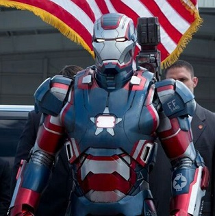Iron Patriot. Iron Man 3