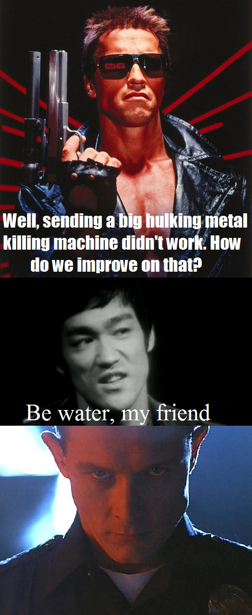 Water Terminator Bruce Lee