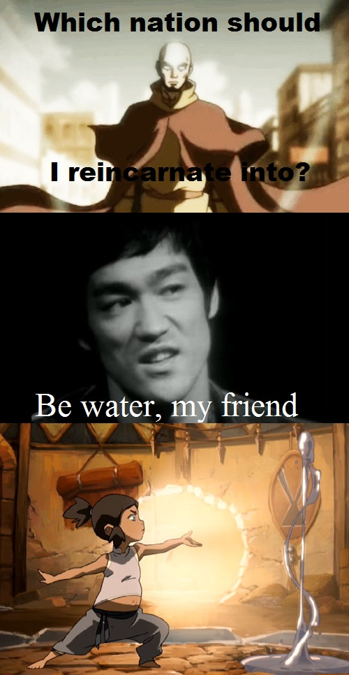 Avatar Water Tribe Bruce Lee