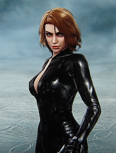Catwoman. Seina Kyle. Batman. Made using Creation mode in Soul Calibur 5. benjaminfrog.com