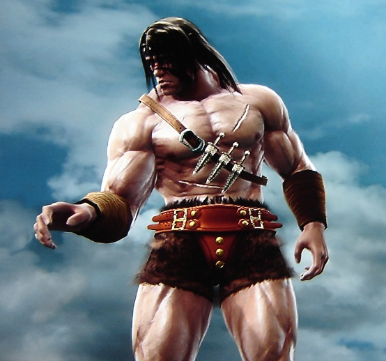 Conan the Barbarian. Made using Creation mode in Soul Calibur 5. benjaminfrog.com