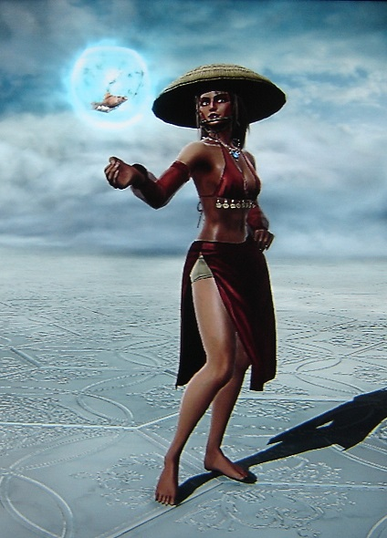 Katara. The Painted Lady. Avatar The Last Airbender. Made using Creation mode in Soul Calibur 5. benjaminfrog.com