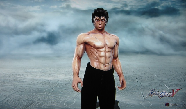 Bruce Lee. Made using Creation mode in Soul Calibur 5. benjaminfrog.com