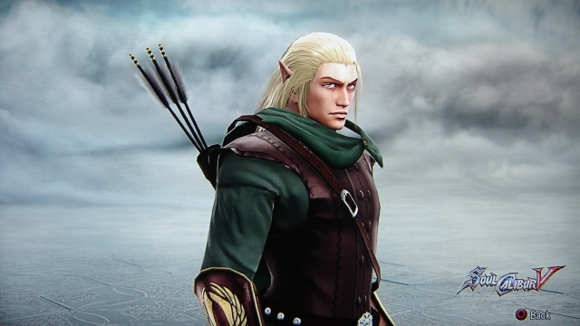 Legolas. Lord of the Rings. Wood Elf. Made using Creation mode in Soul Calibur 5. benjaminfrog.com