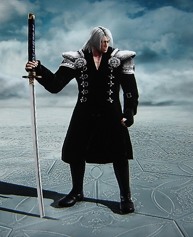 Sephiroth. Final Fantasy VII. Made using Creation mode in Soul Calibur 5. benjaminfrog.com