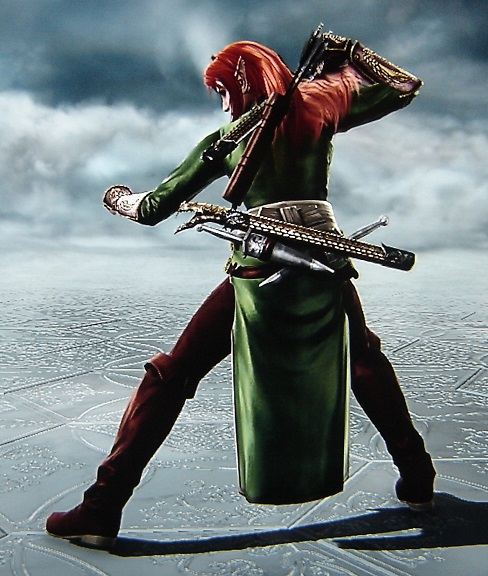 Tauriel. The Hobbit. Wood Elf. Made using Creation mode in Soul Calibur 5. benjaminfrog.com