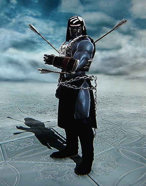 Uruk-Hai. Orc. Lord of the Rings. Made using Creation mode in Soul Calibur 5. benjaminfrog.com