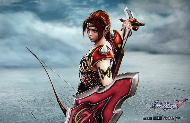 Faun Knight. Original. Concept Art. Made using Creation mode in Soul Calibur 5. benjaminfrog.com