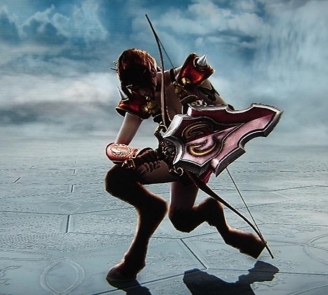 Faun Knight. Original. Concept Art. Made using Creation mode in Soul Calibur 5. benjaminfrog.com