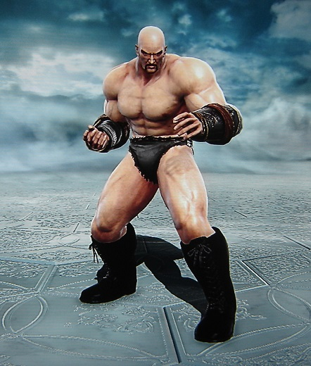 Nappa. Dragon Ball Z. Made using Creation mode in Soul Calibur 5. benjaminfrog.com