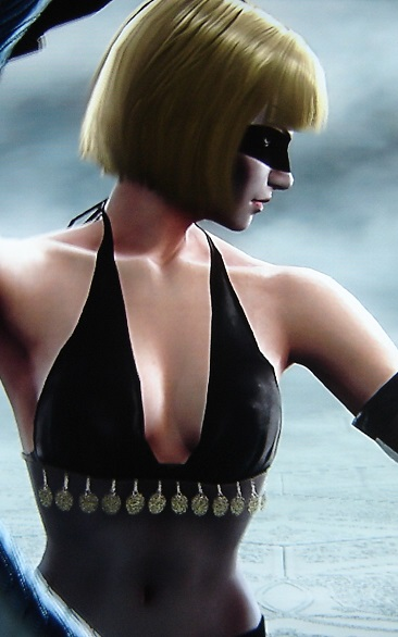Pris. Blade Runner. Made using Creation mode in Soul Calibur 5. benjaminfrog.com