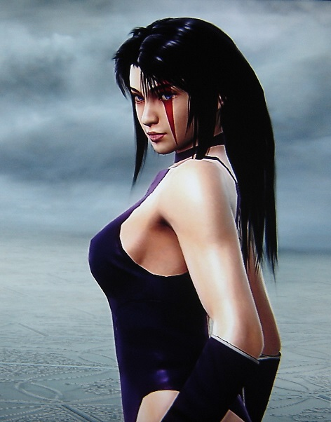 Psylocke. X-Men. Made using Creation mode in Soul Calibur 5. benjaminfrog.com