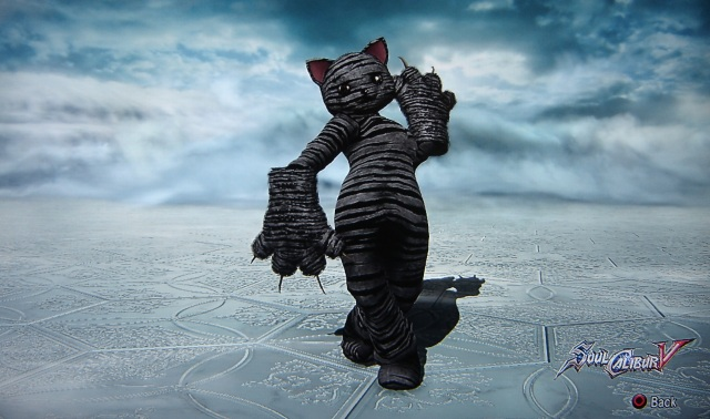 Winston. Creepy Cat. Made using Creation mode in Soul Calibur 5. benjaminfrog.com