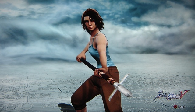 Zen. Chocolate. Made using Creation mode in Soul Calibur 5. benjaminfrog.com