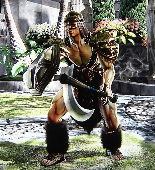 Campaigner. Made using Creation mode in Soul Calibur 4. benjaminfrog.com