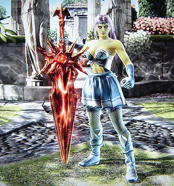 Mandie. Fairly Odd Parents. Made using Creation mode in Soul Calibur 4. benjaminfrog.com