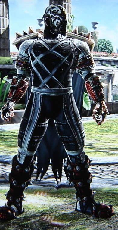 Spawn. Made using Creation mode in Soul Calibur 4. benjaminfrog.com