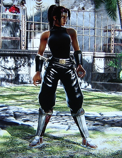 Yoruichi. Bleach. Made using Creation mode in Soul Calibur 4. benjaminfrog.com