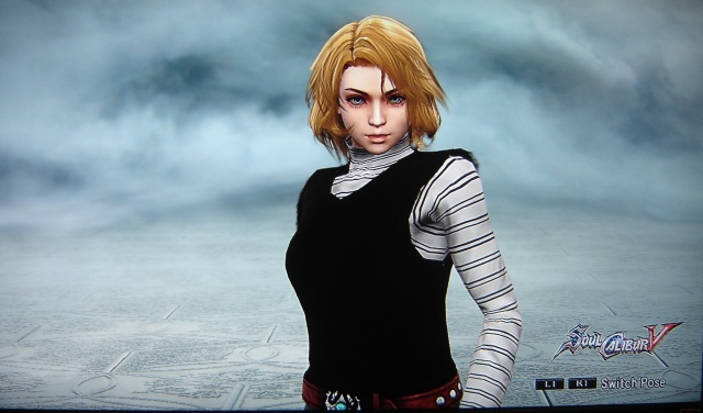 Android 18. Dragon Ball Z. Made using Creation mode in Soul Calibur 5. benjaminfrog.com