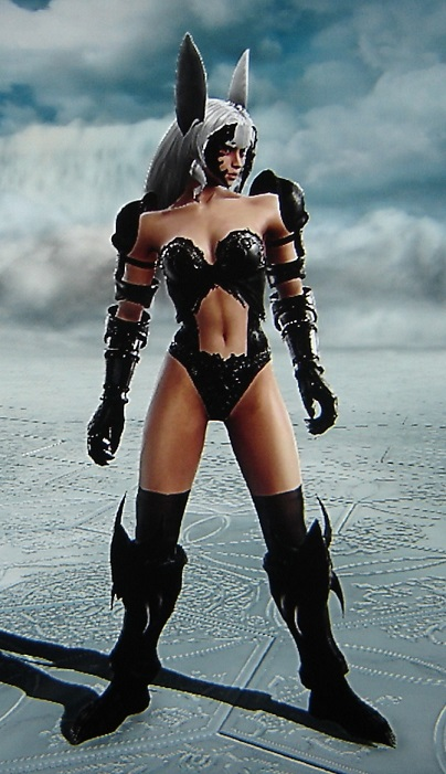 Fran. Final Fantasy XII. Made using Creation mode in Soul Calibur 5. benjaminfrog.com