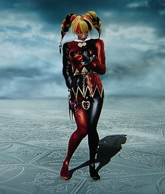 Harley Quinn. Batman. Made using Creation mode in Soul Calibur 5. benjaminfrog.com