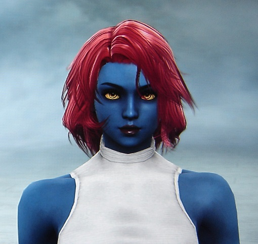 Mystique. X-Men. Made using Creation mode in Soul Calibur 5. benjaminfrog.com