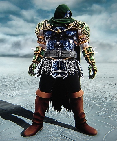 Ronan. Marvel Comics. Made using Creation mode in Soul Calibur 5. benjaminfrog.com