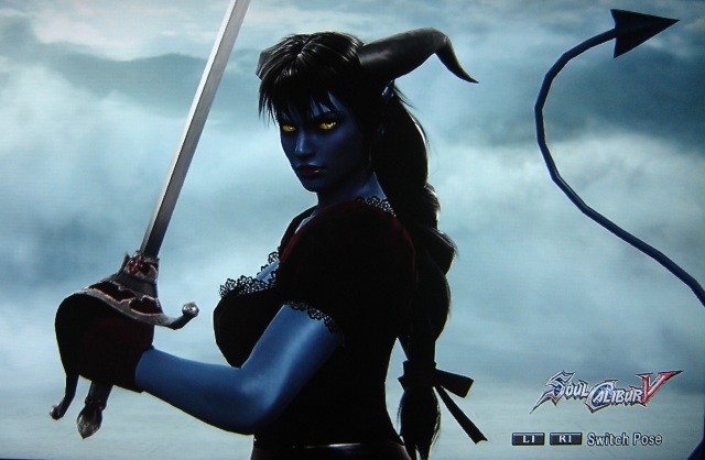 Victorian Tiefling. Made using Creation mode in Soul Calibur 5. benjaminfrog.com