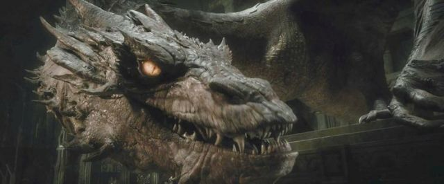 Smaug. Dragon. The Hobbit