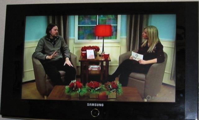 Benj and Sarah on Rogers TV crop