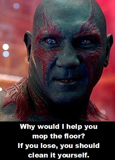 Drax 3 Guardians of the Galaxy