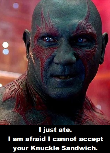 Drax 4 Guardians of the Galaxy