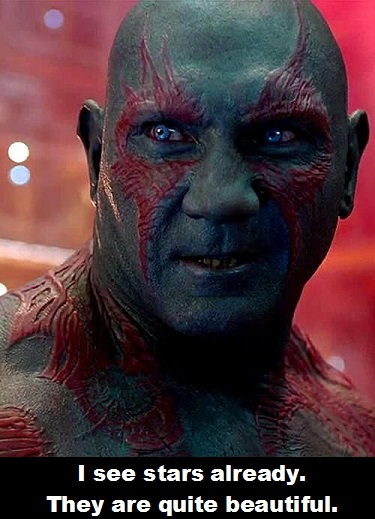 Drax 5 Guardians of the Galaxy