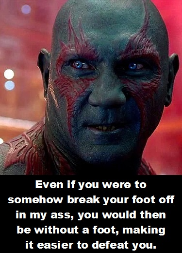 Drax 8 Guardians of the Galaxy