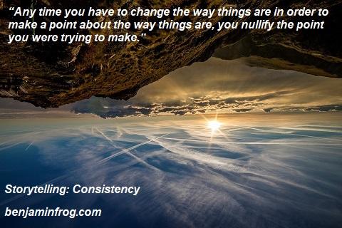 Storytelling. Consistency. Message. Moral. benjaminfrog.com