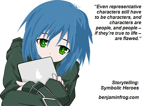 Storytelling. Symbolic Heroes. Writing Heroes. benjaminfrog.com