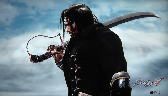 The Black Hand (a.k.a. Ocubis) from Crimson Dawn. Made using Creation mode in Soul Calibur 5. benjaminfrog.com