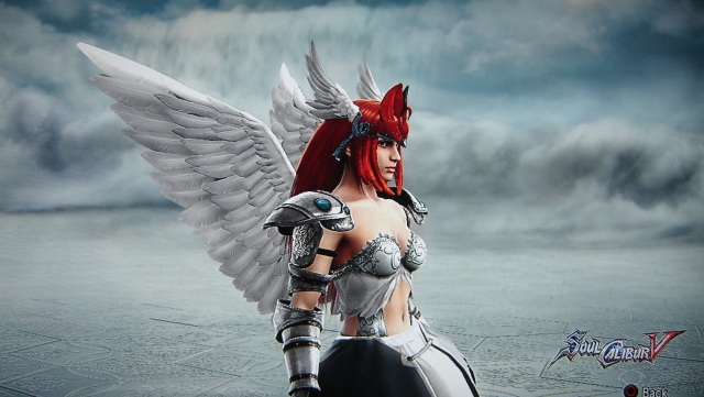 Erza Scarlet from Fairy Tail. Made using Creation mode in Soul Calibur 5. benjaminfrog.com