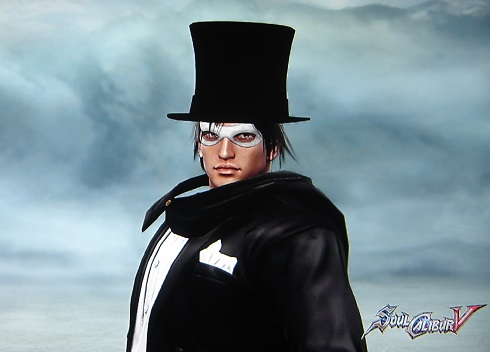 Tuxedo Mask from Sailor Moon. Made using Creation mode in Soul Calibur 5. benjaminfrog.com