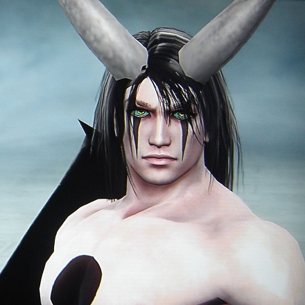 Ulquiorra from Bleach. Made using Creation mode in Soul Calibur 5. benjaminfrog.com
