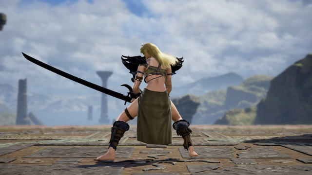 Jordis the Sword Maiden from Skyrim. Falmer Armor. Made using Creation mode in Soulcalibur 6. benjaminfrog.com