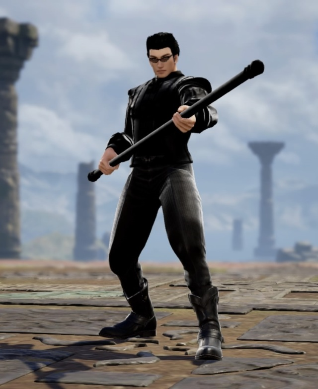 Neo from The Matrix. Made using Creation mode in Soulcalibur 6. benjaminfrog.com