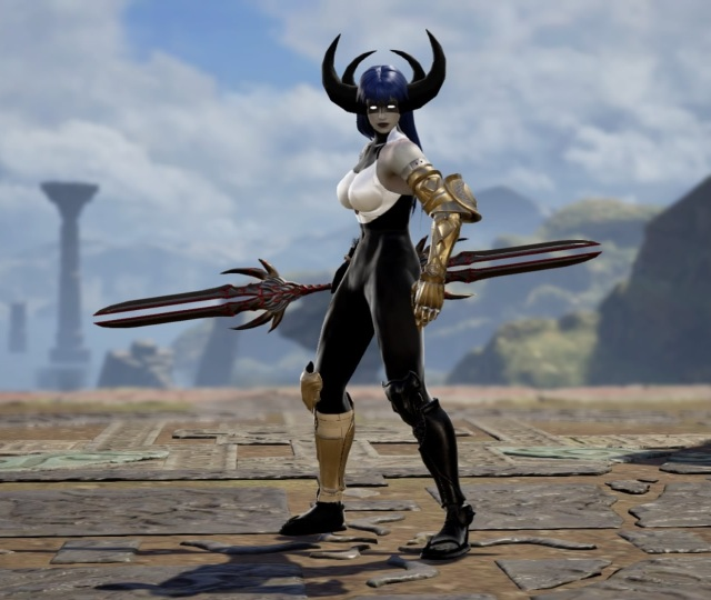 Proxima Midnight from Avengers Infinity War. Made using Creation mode in Soulcalibur 6. benjaminfrog.com